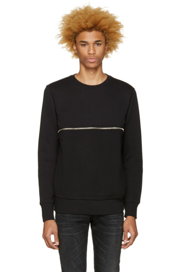 Diesel - Black S-Dry Zip Pullover