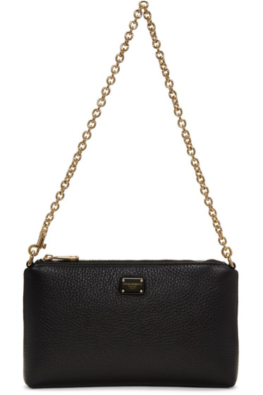 Dolce & Gabbana - Black Small Chain Pouch