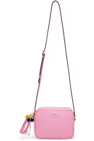 Dolce & Gabbana - Pink Leather Camera Bag