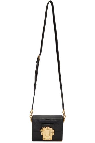 Dolce & Gabbana - Black Lucia Lock Bag