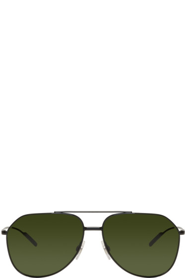 Dolce & Gabbana - Black Aviator Sunglasses