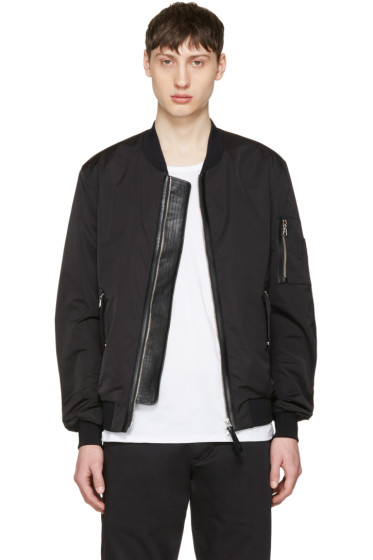 Mackage - Black Ragnar Bomber Jacket