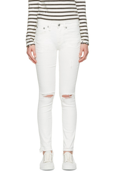 R13 - White Jenny Jeans