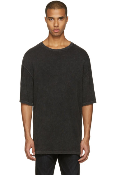 R13 - Black Oversized T-Shirt