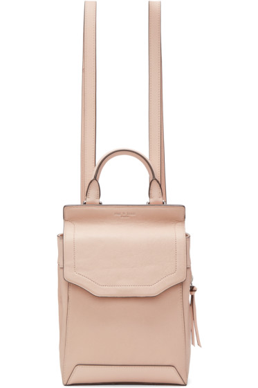 Rag & Bone - Pink Small Pilot II Backpack