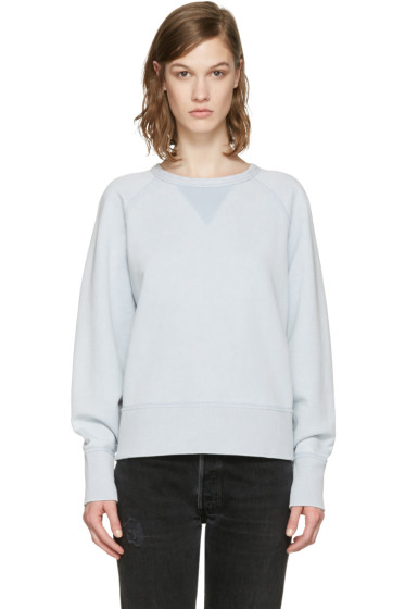 Rag & Bone - Blue French Terry Pullover
