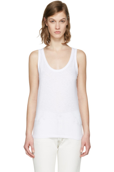 Rag & Bone - White 'The Tank' Tank Top