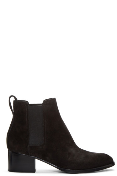 Rag & Bone - Black Suede Walker Boots