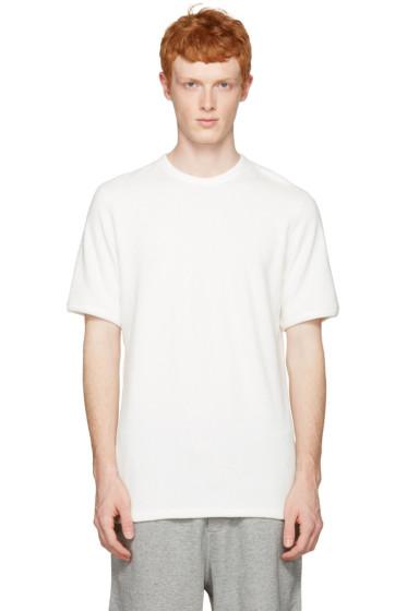 Rag & Bone - White Toweling T-Shirt