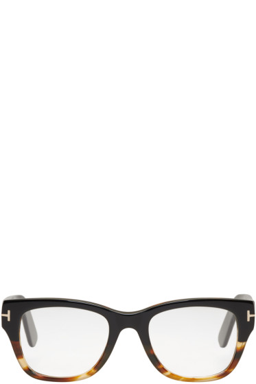 Tom Ford - Black & Tortoiseshell TB 5379 Glasses