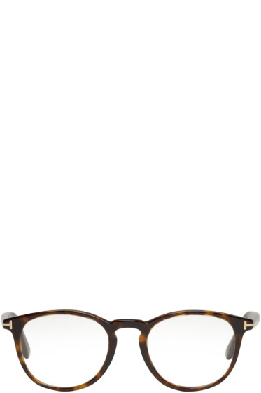 Tom Ford - Tortoiseshell TF 5401 Glasses