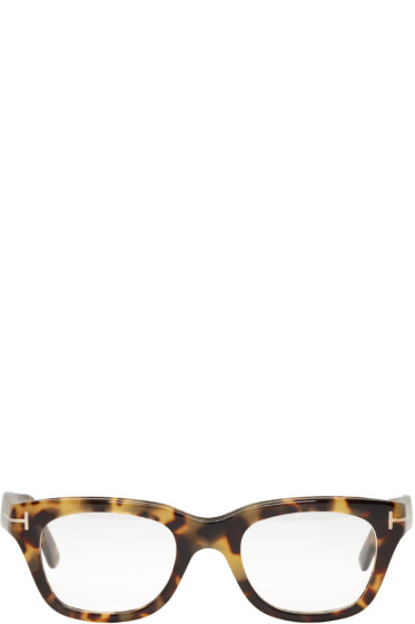 Tom Ford - Tortoiseshell TF 5178 Glasses