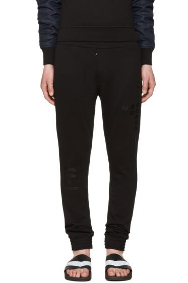 Diesel Black Gold - Black Skinny Lounge Pants