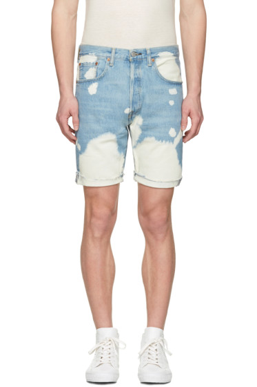 Levi's - Blue Denim 501 CT Shorts