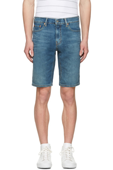 Levi's - Blue 541 Athletic Fit Shorts