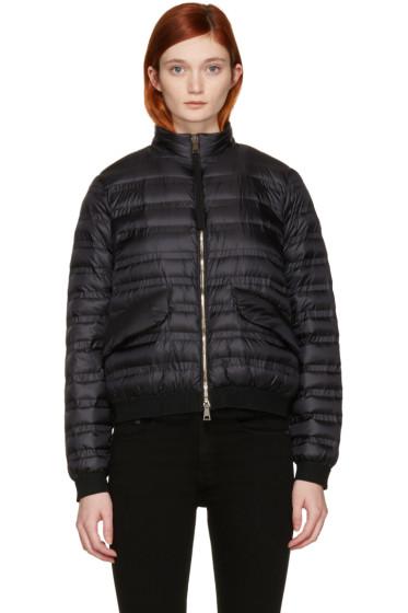 Moncler - Black Violette Down Coat
