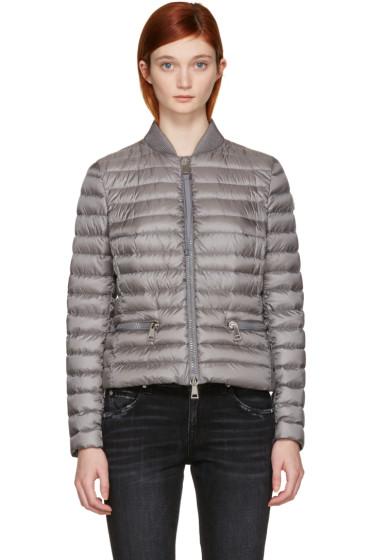Moncler - Grey Down Blen Jacket