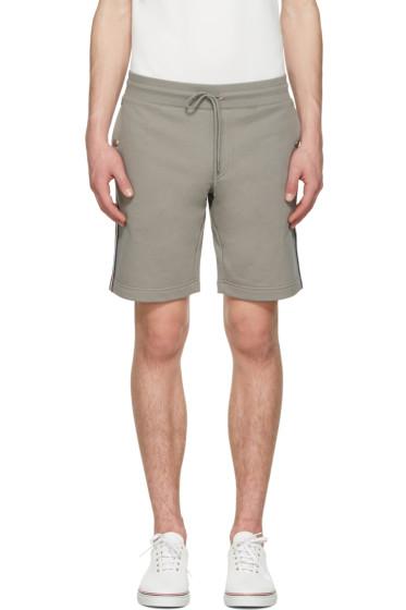 Moncler - Grey Side Stripes Shorts