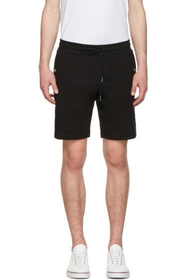 Moncler - Black Side Stripes Shorts