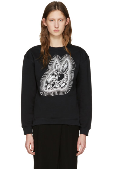 McQ Alexander Mcqueen - Black Be Here Now Pullover