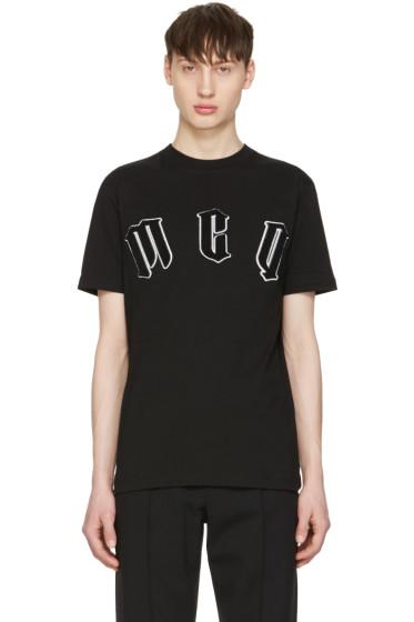 McQ Alexander Mcqueen - Black Logo T-Shirt