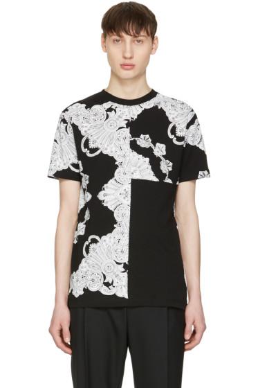 McQ Alexander Mcqueen - Black Phoenix Paisley T-Shirt
