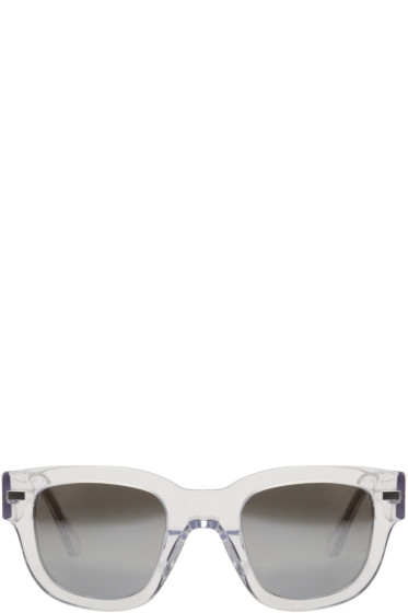 Acne Studios - Transparent Frame Metal Sunglasses
