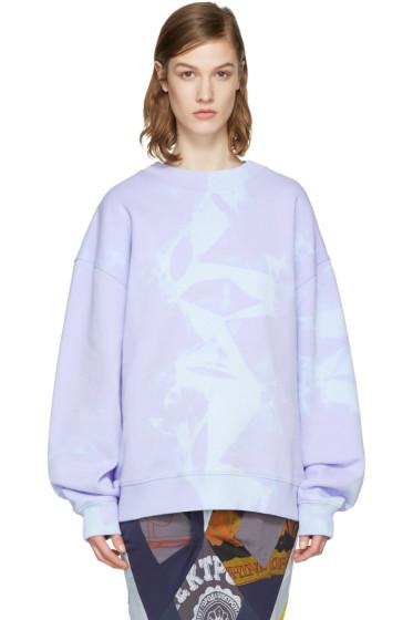Acne Studios - Purple Yana Tie-Dye Pullover