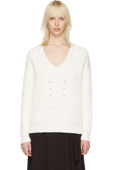 Acne Studios - Off-White Bernice Sweater