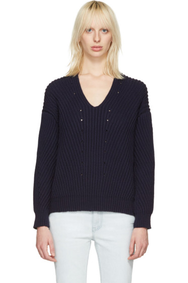 Acne Studios - Navy Bernice Sweater