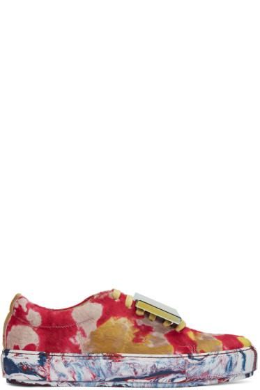 Acne Studios - Muticolor Adriana Tie Dye Sneakers