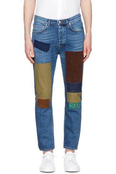 Acne Studios - Indigo Town Patch Jeans