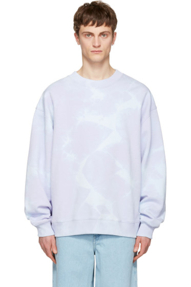 Acne Studios - Purple Yana Bleach Sweatshirt