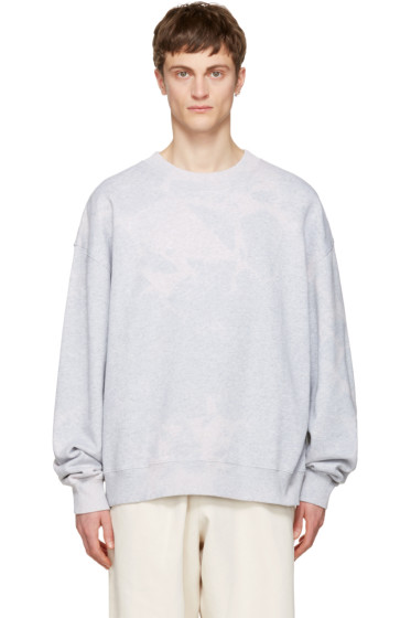 Acne Studios - Grey Yana Bleach Sweatshirt