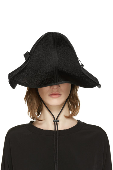Y-3 - Black String Bucket Hat