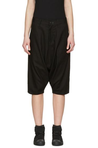 Y-3 - Black Worker Shorts