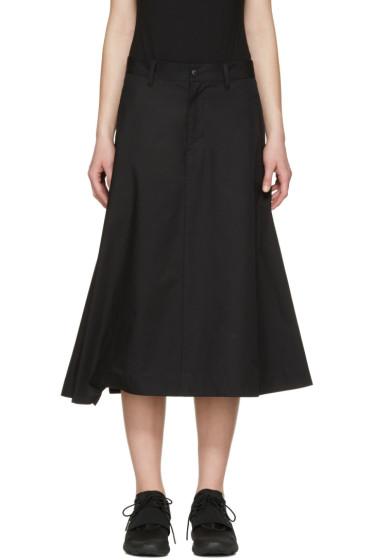 Y-3 - Black Technical Skirt