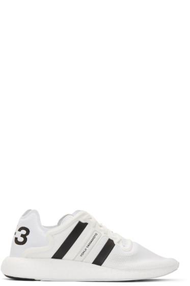 Y-3 - White Yohji Run Boost Sneakers