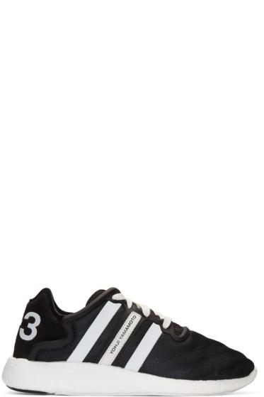 Y-3 - Black Yohji Run Boost Sneakers