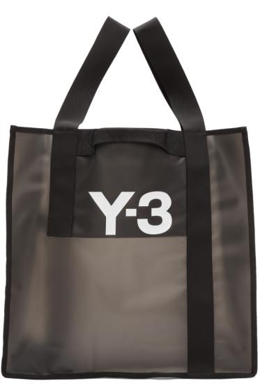 Y-3 - Black Beach Tote Bag