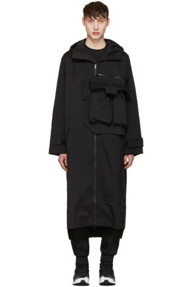 Y-3 - Black M Min Nln Coat