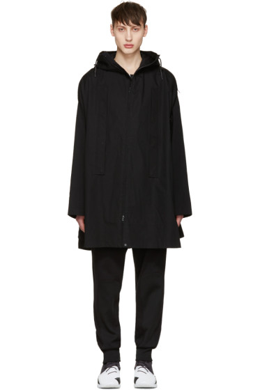 Y-3 - Black Layered Poncho