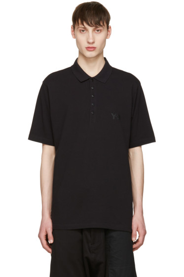 Y-3 - Black Seasonal Polo
