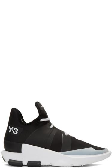 Y-3 - Black Noci Low Sneakers