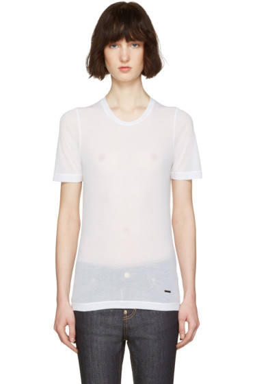 Dsquared2 - White Renny Fit T-Shirt