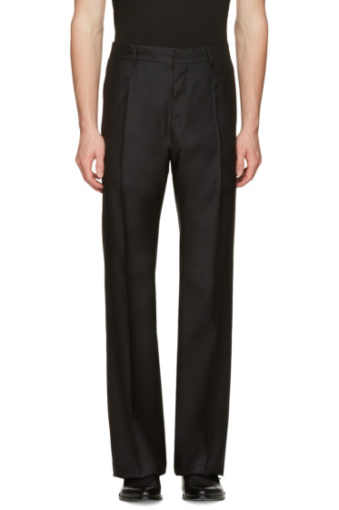 Dsquared2 - Black Wide-Leg Trousers