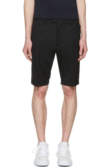 Dsquared2 - Black Glam Head Chic Shorts