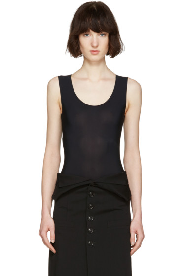 Maison Margiela - Black Sleeveless Bodysuit