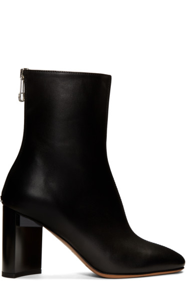 Maison Margiela - Black Leather Boots