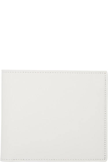 Maison Margiela - White Bifold Wallet